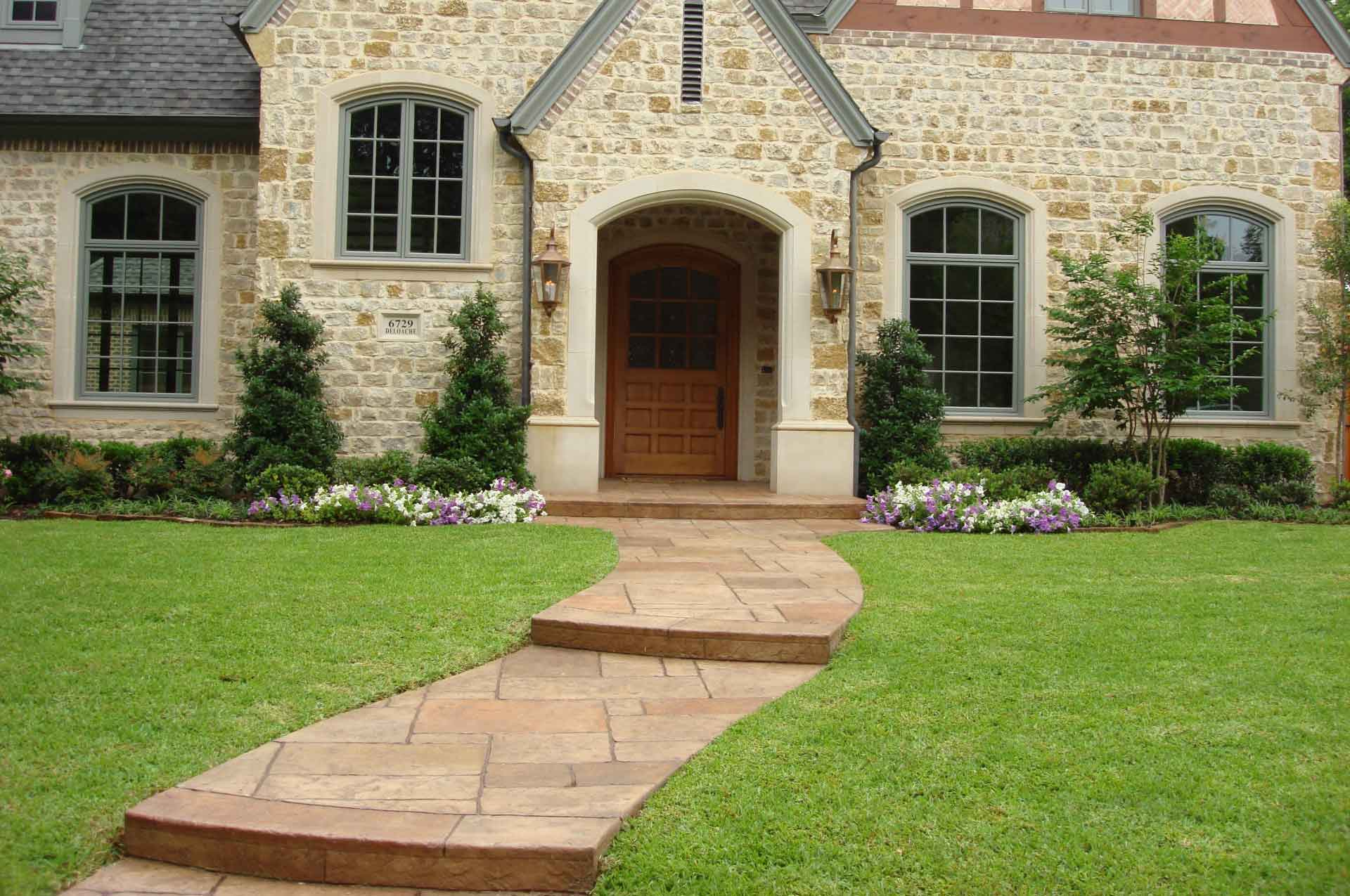 Residential Landscaping In Dallas Southern Land Design
